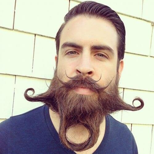 Avant-garde Mustaches