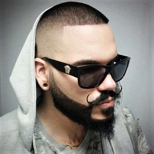 Barber Beard and Mustache Styles