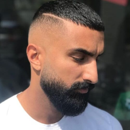 Beard Fades with Skin Fade Haircuts