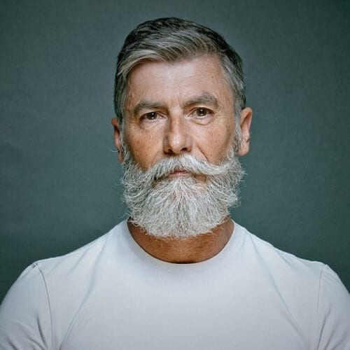 Best Mustache Styles for Older Men with Beards