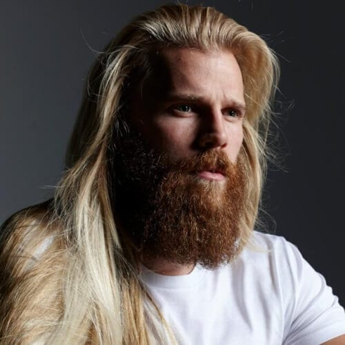 Blonde Hair Red Beard Viking Styles