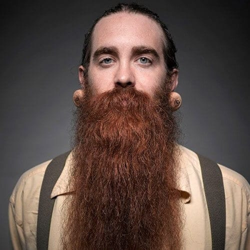 Brown Hair Red Beard Viking Styles