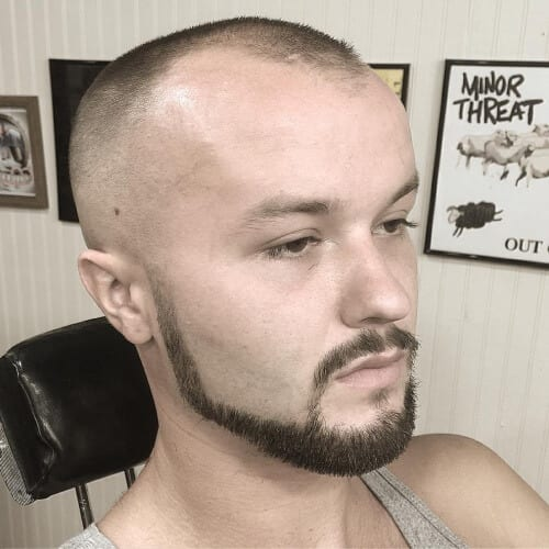 Chin Strap Goatee Styles