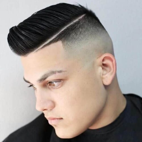 Combovers with High Fades