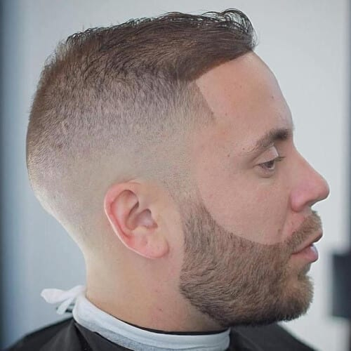 Crown Fade Haircuts for Fine Hair