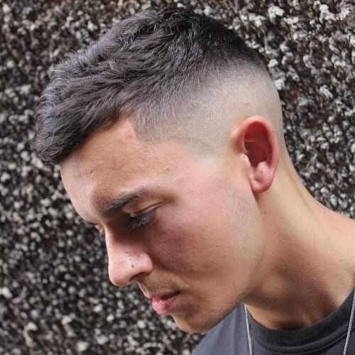 Crown Fade Haircuts