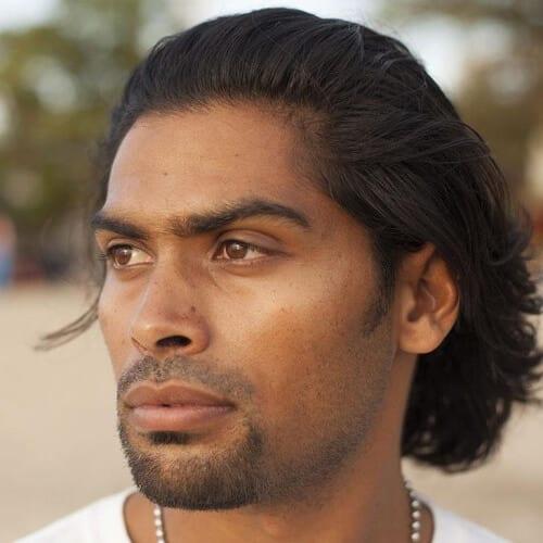 Discrete Goatee Facial Hair Styles