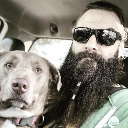 Double Beaded Beard Strips