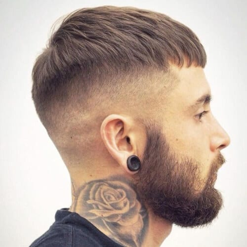 French Crop Fades for Men
