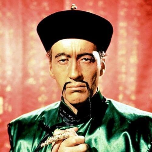 Fu Manchu Mustaches