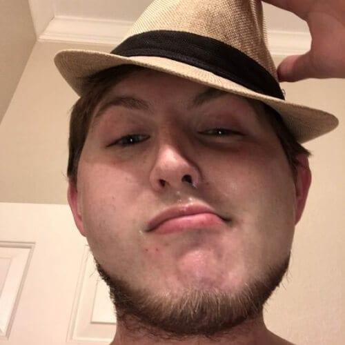 Half Chin Strap Beard