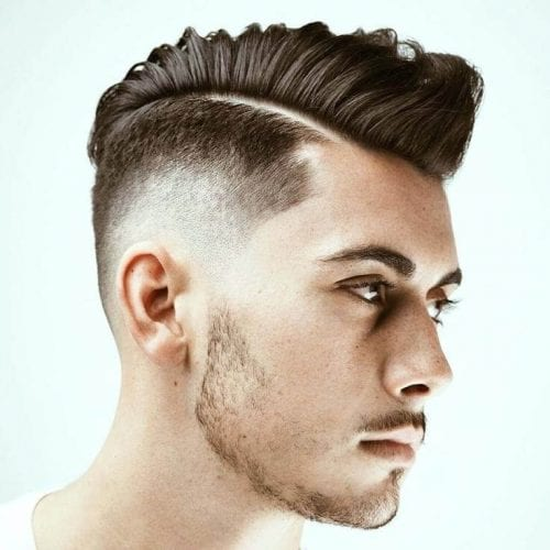 Hard Part Fade Haircuts for Men
