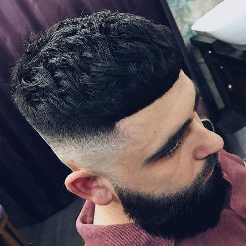 High French Crop Fade