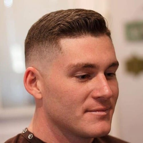 High and Tight Fade Haircuts for Thick Hair