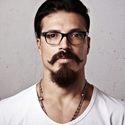 Hipster Long Goatee Styles