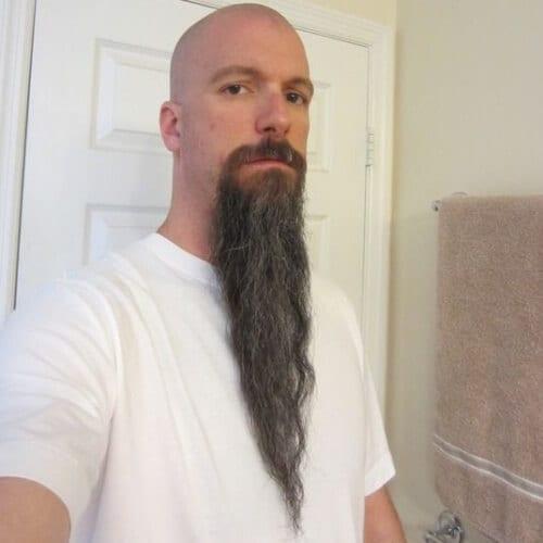 Isolated Viking Beards