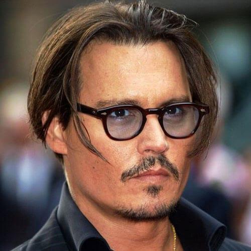 Johnny Depp Mustache Goatee Styles