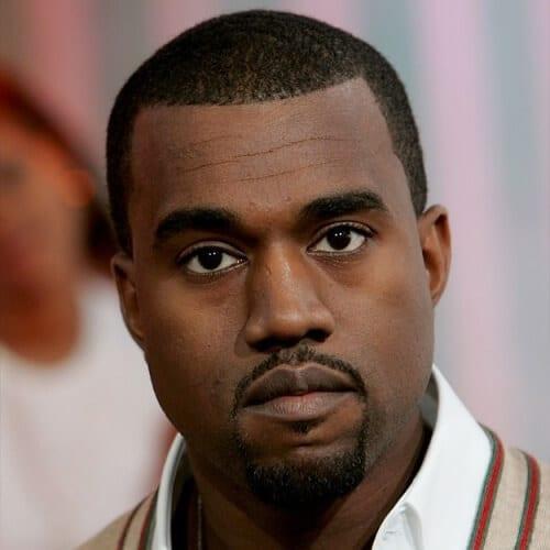 Kanye West Goatees
