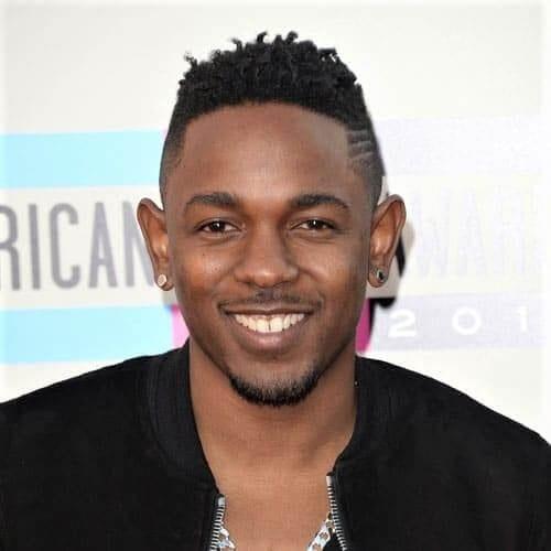 Kendrick Lamar High Fade