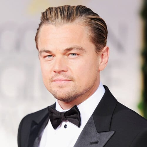 Leonardo DiCaprio Chin Strap Beard