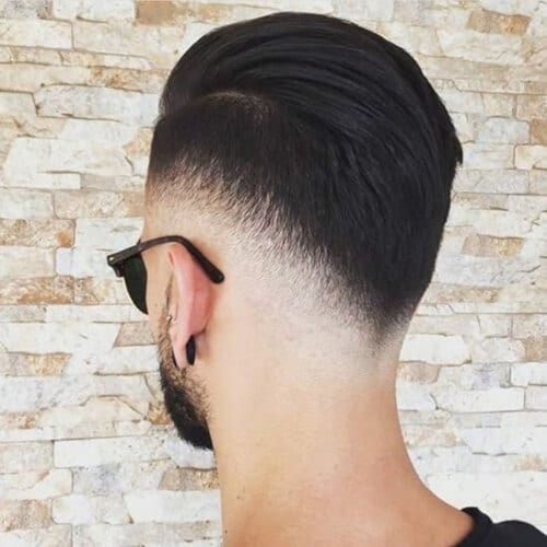 Low Types of Fades with V Shape
