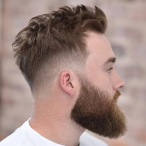Mid Types of Fades with Taper