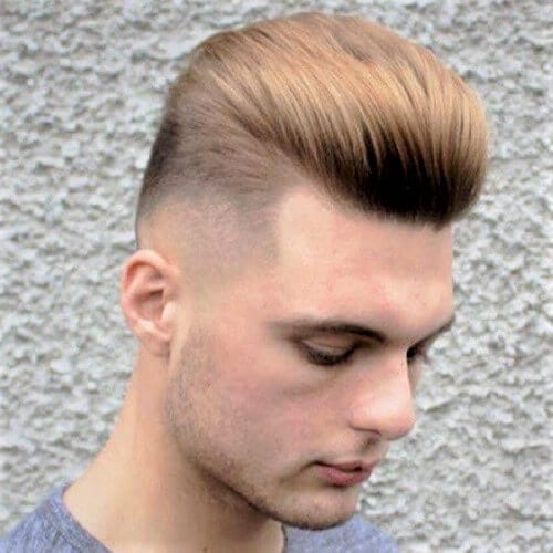 Modern Pomp Fade Haircuts