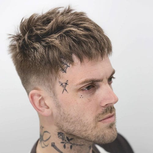 Piecey Bangs Haircut