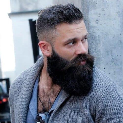 Rounded Viking Beard Styles