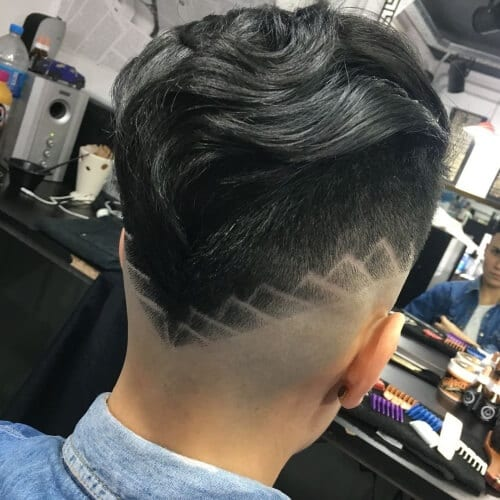 Shaved Design Types of Fades