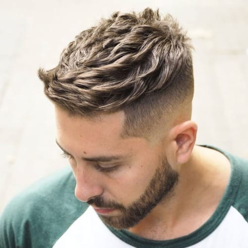 Side-swept French Crop