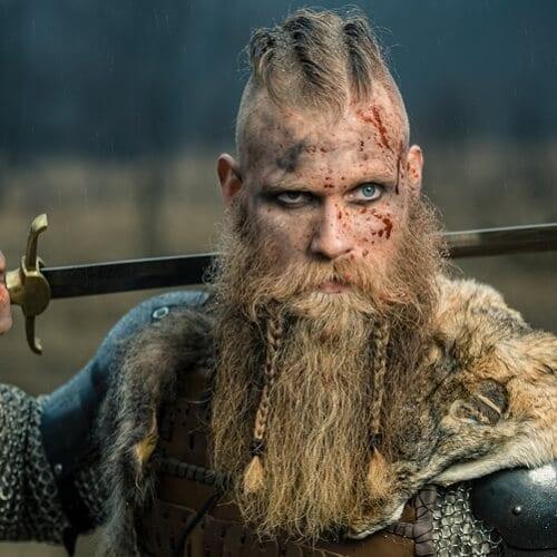 Smaller Viking Beard Braids