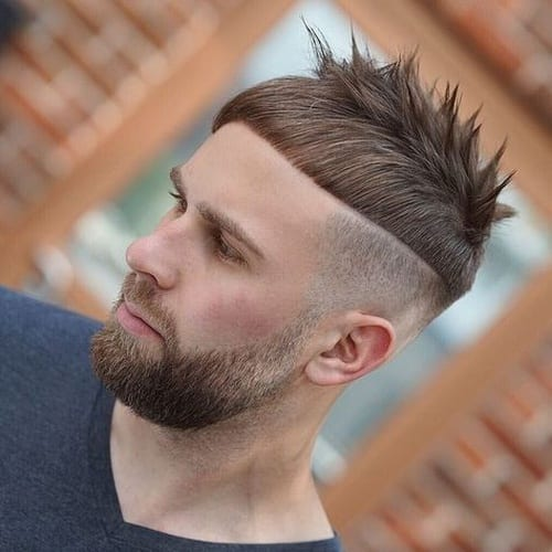 Straight and Spiky French Crop