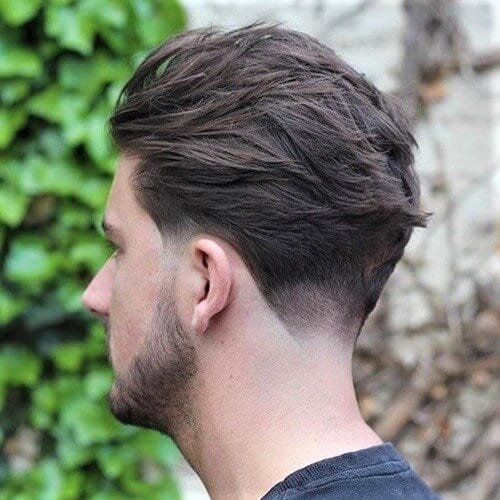 Subtle Neck Fade Haircut