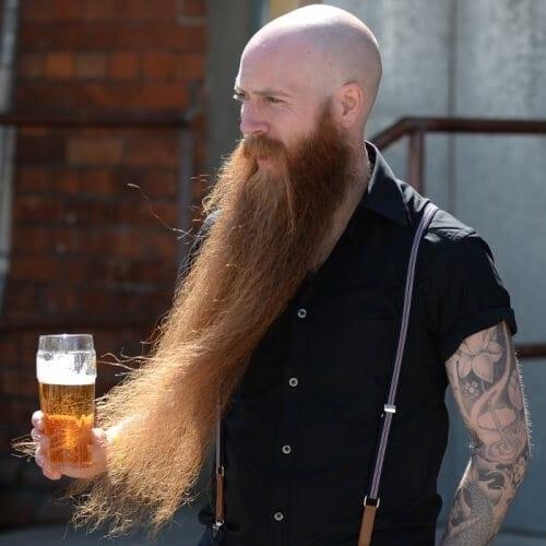 Super Long Viking Beard Styles