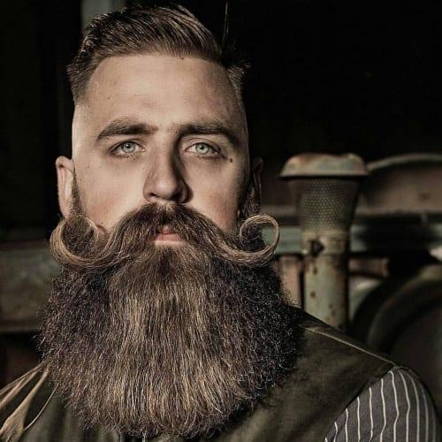 Super Styled Viking Beards