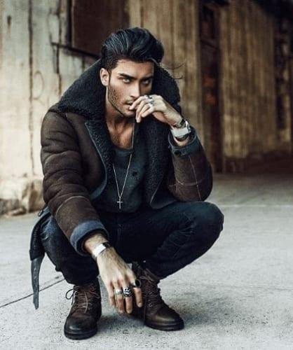 Toni Mahfud male instagram model