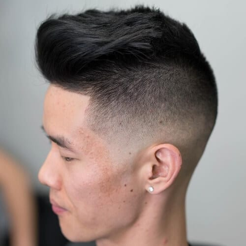 Undercut Types of Fades for Thick Hair
