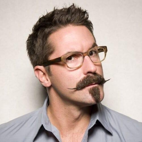Van Dyke Mustache and Goatee Styles