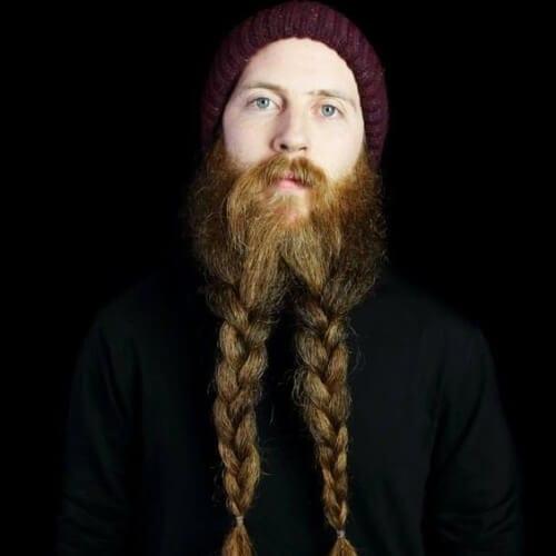Viking Beard Braid Styles