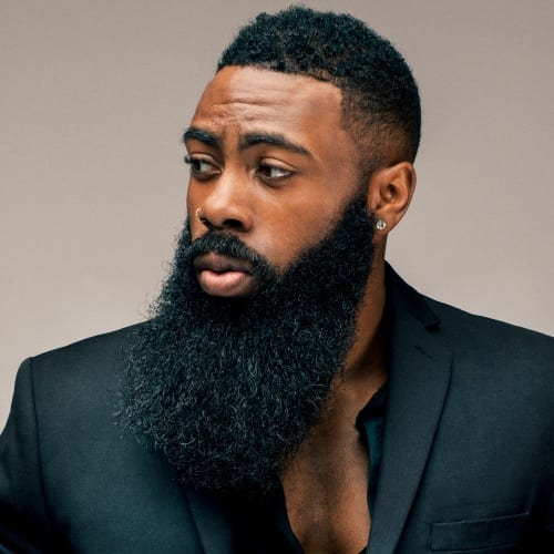 Viking Beard Styles for Black Men