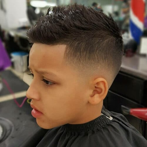 low fade haircuts for kids