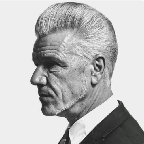 1950s Mens Hairstyles for Older Men