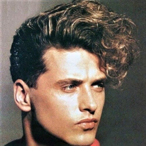 80s Fringe Haircuts Men