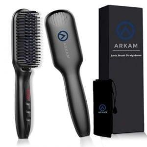 Arkam Beard Straightener Brush for Men
