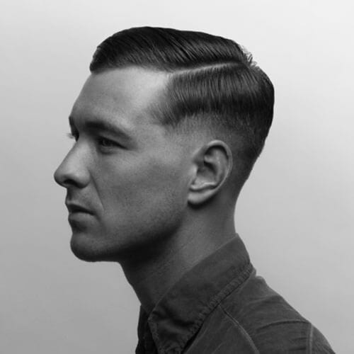 Combover Fifties Hairstyles