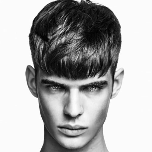 Full Fringe Haircuts Men