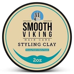Hair Clay for Men by Smooth Viking