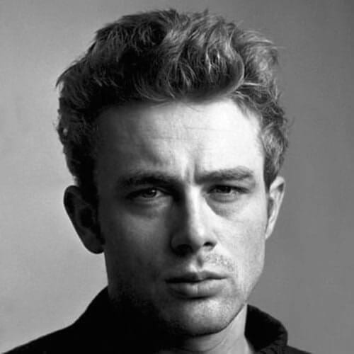 Messy 1950s Mens Hairstyles