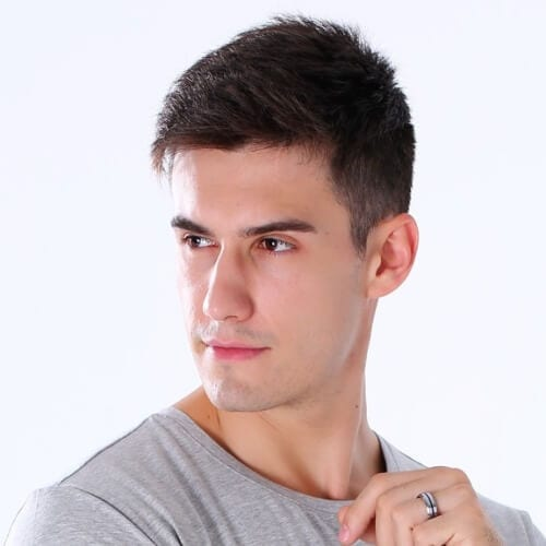 50 Low Maintenance Haircuts For Men Styling Tips Men